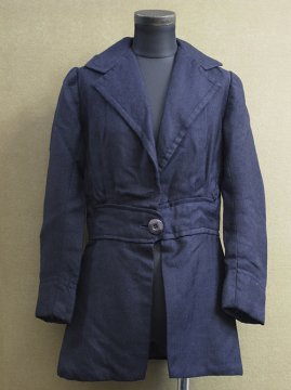 1910-1920's navy wool jacket