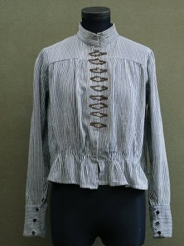 1900's striped bodice