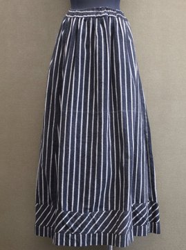 1880-1900's striped skirt