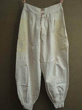 cir. 1940's beige zouave pants
