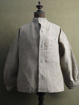 1940's French military 1895 linen bourgeron jacket