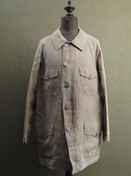 cir. 1920-1930's linen hunting jacket
