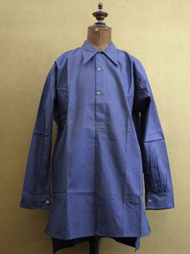 1930-1940's blue work shirt dead stock