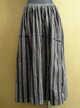 early 20th c. striped skirt