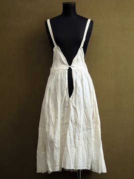 early - mid 20th c. linen × cotton underdress