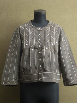 1910-1930's striped blouse