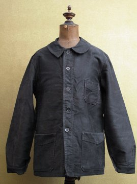 cir.1940's black moleskin jacket