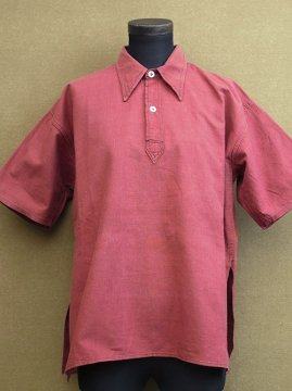 1930 - 1940's red S/SL shirt