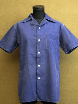 1940's blue S/SL shirt