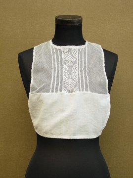 early 20th c. lace × cotton dickey