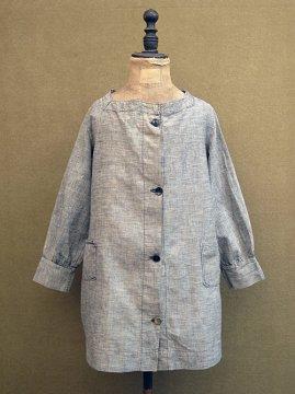 1920-1930's kids chambray coat
