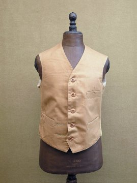 cir.1930's beige kids gilet