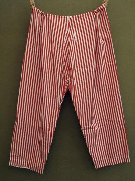 cir.1920-1930's red striped pants