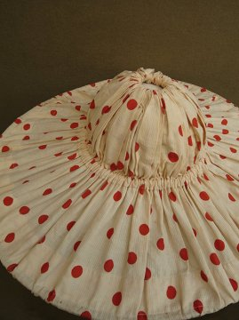 cir.1930-1940's red dots winery hat