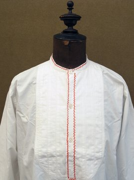 early 20th c. white cotton shirt