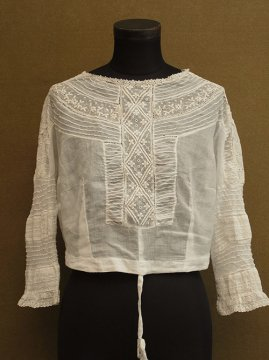 early 20th c. white blouse