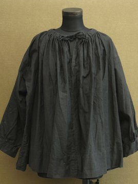 cir.1930-1950's black moleskin smock