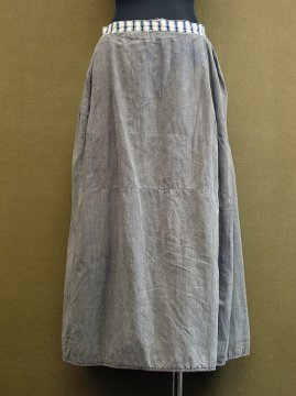 ~early 20th c. patched cotton skirt