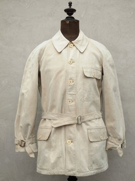 cir. 1930's beige cotton jacket