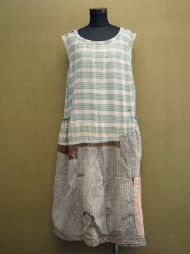1920-1930's patched N/SL dress