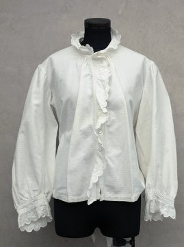 early 20th c. white blouse / jacket