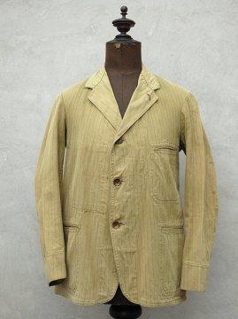 ~1930's striped cotton jacket