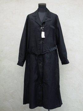 ~1940's black work coat dead stock