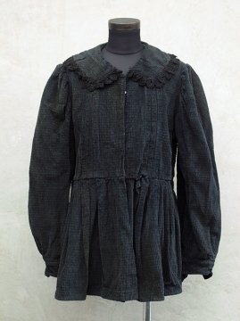 cir.1930-1940's black cord top