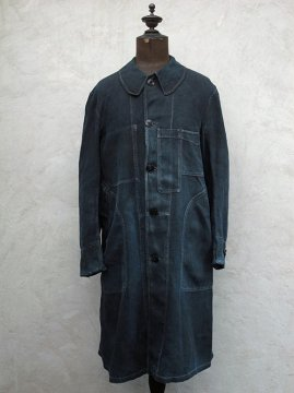 cir.1930's inigo linen maquignon work coat