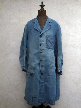 ~1930's indigo linen work cort