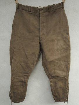 1940's brown pique jodhpurs
