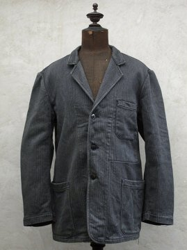 1940-1950's gray pique work jacket