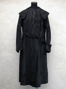 early 20th c. black silk coat