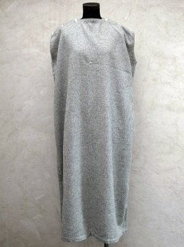 cir.1930's gray flannel dress N/SL