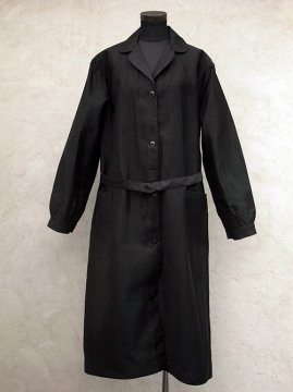 cir.1940's black work coat dead stock