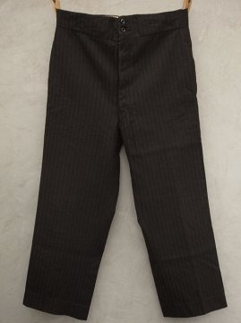 ~1930's striped wool trousers