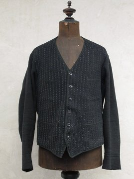 cir.1930's knitted wool cardi