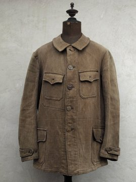 cir.1930's brown pique hunting jacket