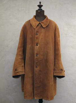 ~1930's brown linen coat