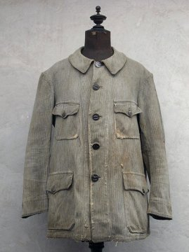 cir.1930's salt&pepper pique hunting jacket