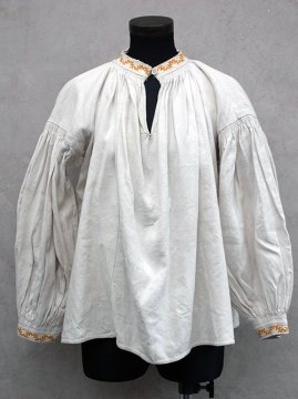 early 20th c. eastern Europe linen top