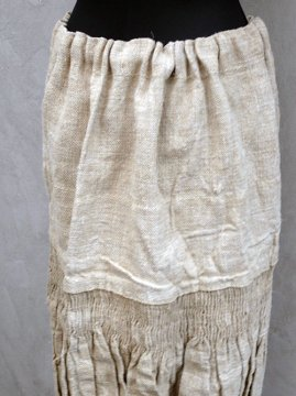 early 20th c. eastern Europe hemp skirt