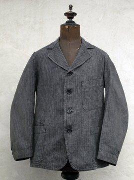 1930's striped cotton jacket