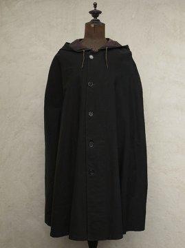 ~1930's black rain cape