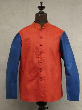 early 20th c. red × blue jacket