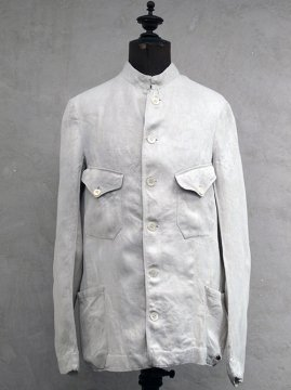 early 20th c. linen twill work jacket