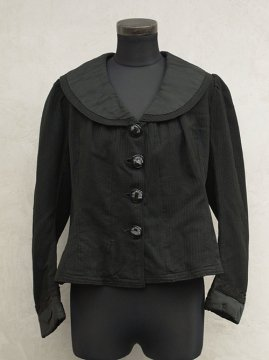 early 20th c. black womens jacket