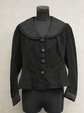 early 20th c. black womens jacket