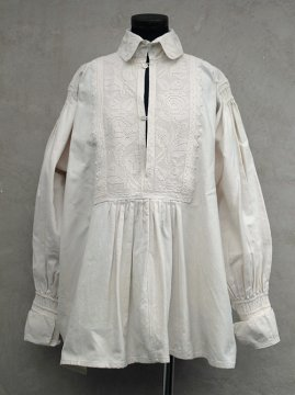early- mid 20th c. linen cotton folk top