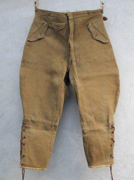 cir.1930-1940's brown pique jodhpurs